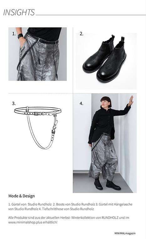 Minimalistische Outfits für den Herbst von Mode RUNDHOLZ