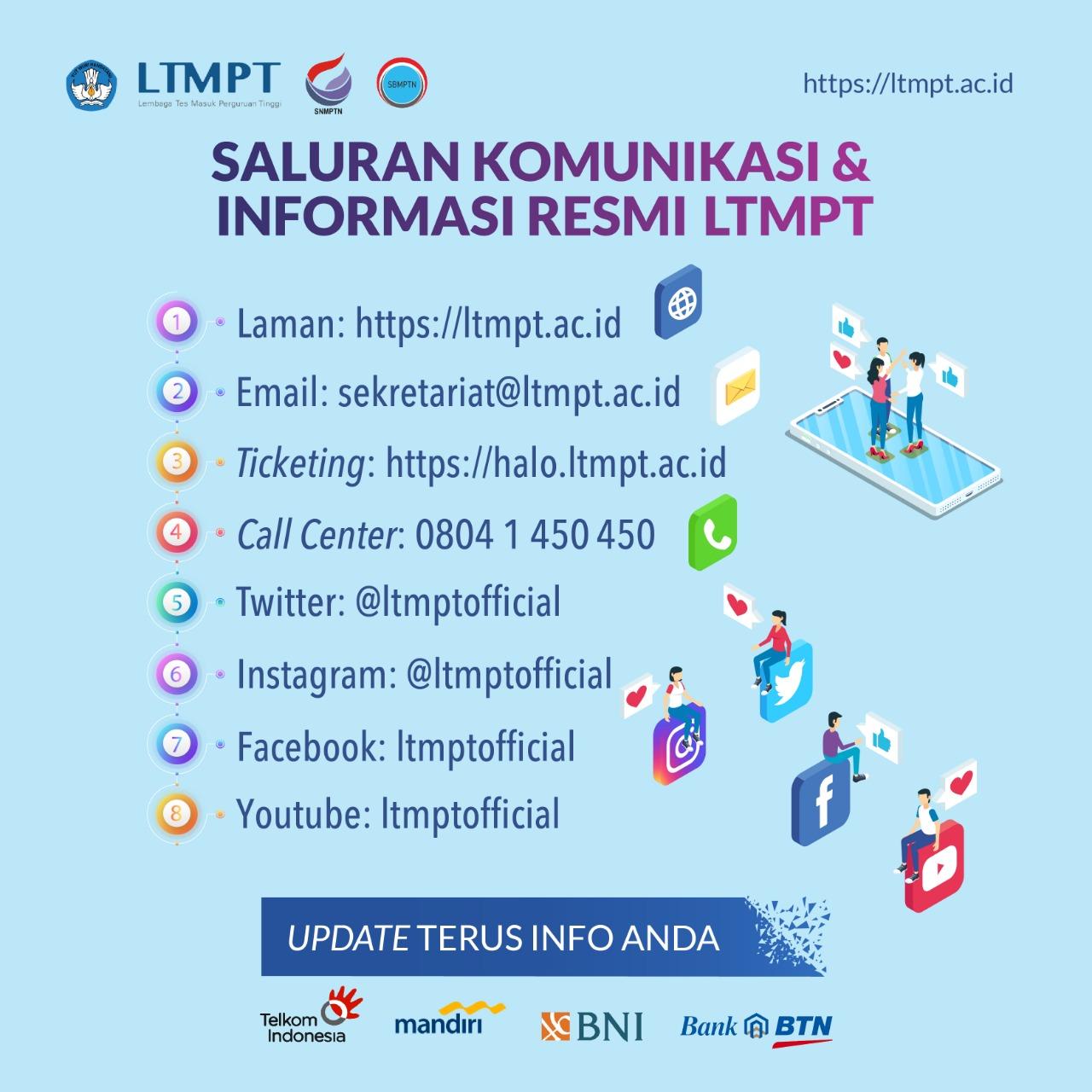 Cara Pendaftaran Online Akun Ltmpt Utbk Sbmptn 2021 2022 Pendaftaran Net 2021 2022