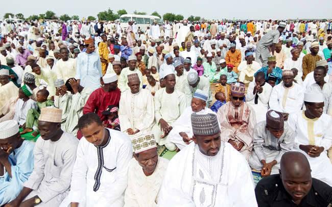Eid praying ground