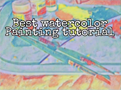 Tips On How To Draw Watercolor Painting