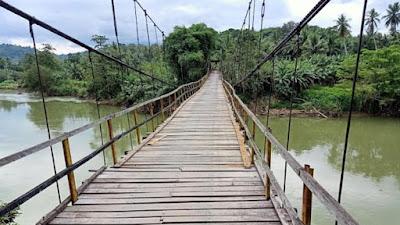 Warga Tiga Desa di Enrekang Butuh Jembatan Beton