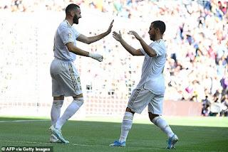 Eden Hazard tagged Karim Benzema as best striker in the world