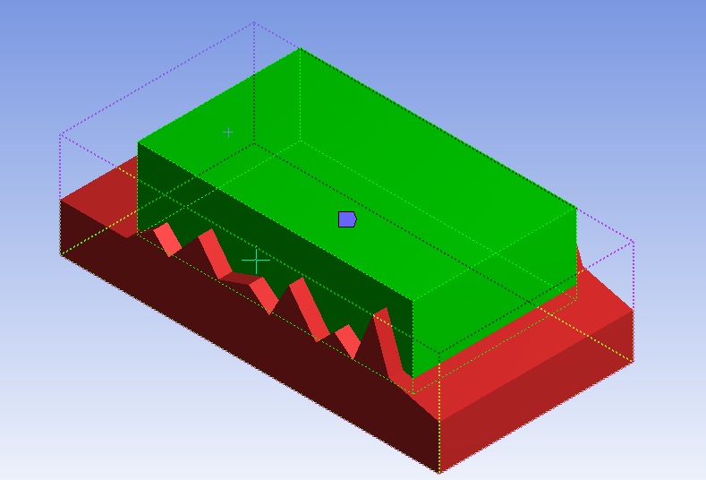 selection of body in ansys