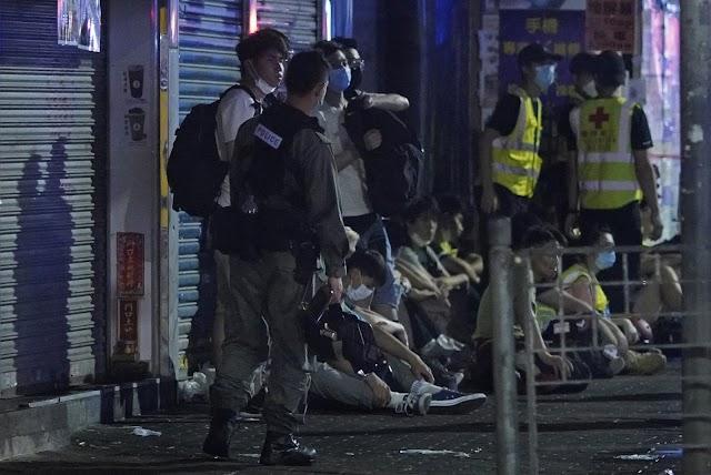 Több mint 250 embert vettek őrizetbe a vasárnapi megmozdulásokkal összefüggésben