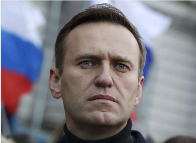 The Kremlin has accused Navalny's associates of removing potential evidence