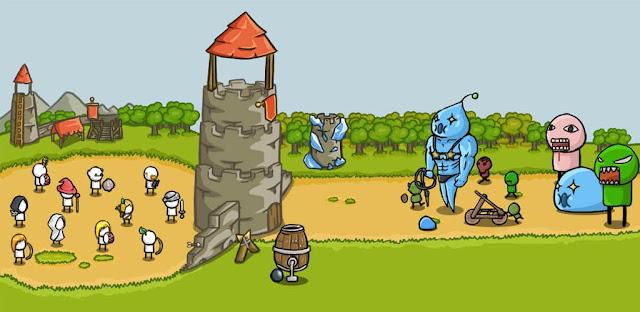 لعبة Grow Castle مهكرة كاملة للاندرويد