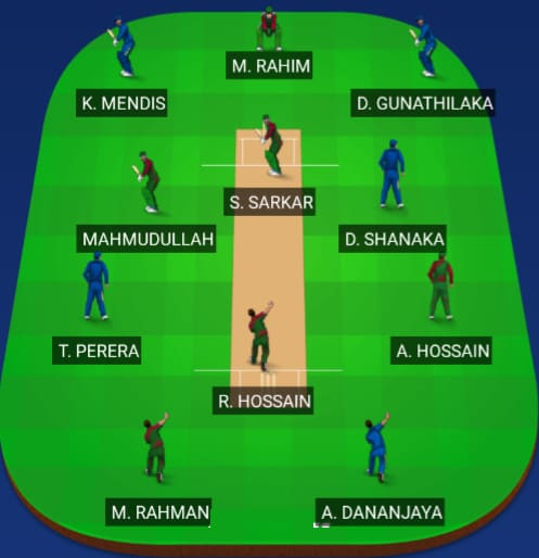 Bangladesh vs Sri Lanka Dream 11 Predictions