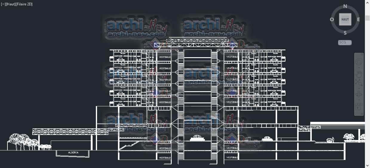 Hotel - BUSINESS CLASS Dwg Cad Archi-new - Free Dwg file ...