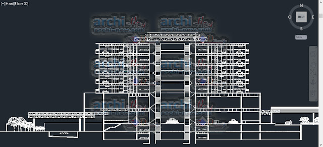 download-autocad-cad-dwg-file-hotel-BUSINESS-CLASS