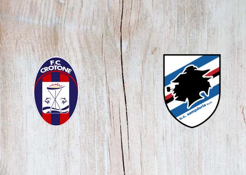Crotone vs Sampdoria -Highlights 21 April 2021