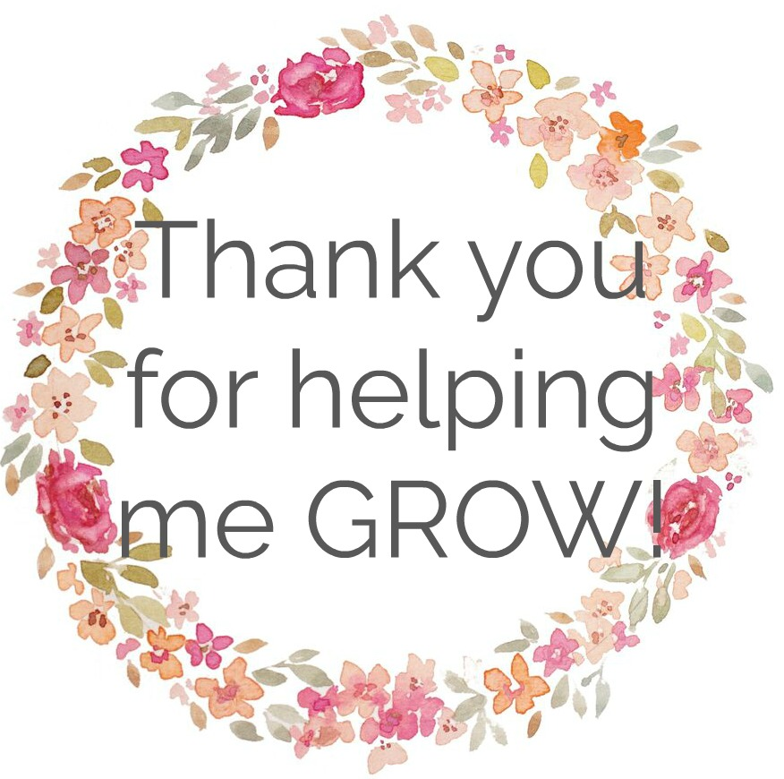 Thanks For Helping Me Grow Quotes: Thank You Gift For Teachers & Nursery