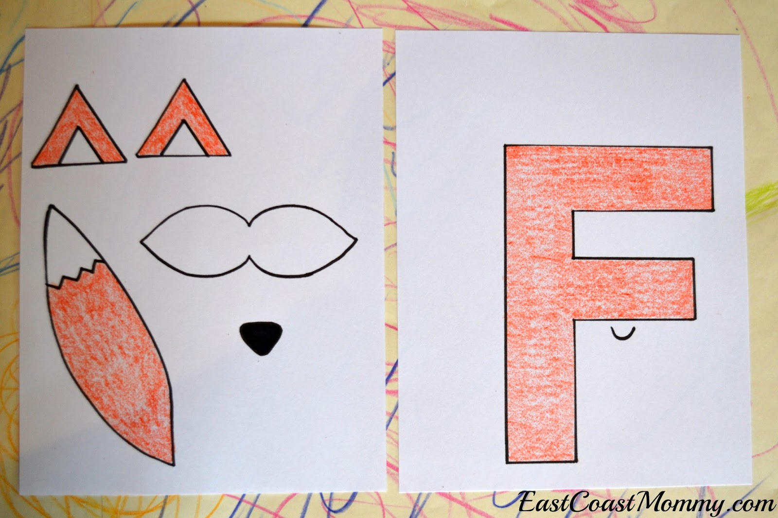 East Coast Mommy: Alphabet Crafts - Letter F