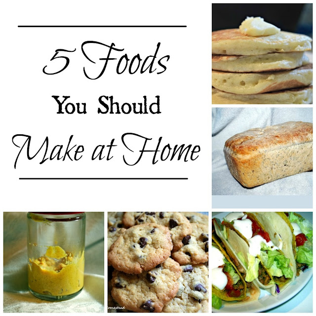 Five foods you should make at home