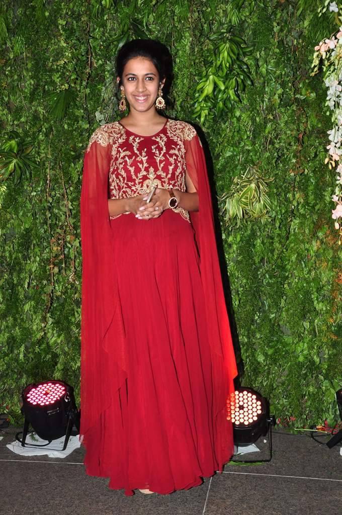Actress Niharika Latest Photos In Red Dress