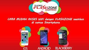Cara Internet Gratis Menggunakan Flashzone Seamless