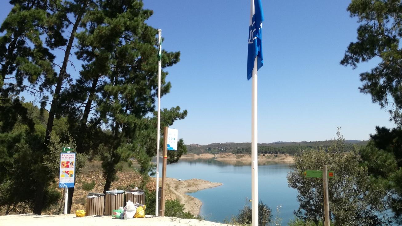 Bandeira Azul Santa Clara