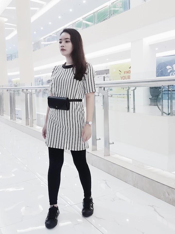 Black & White Stripes #RimaAngelinStyle