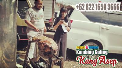 Kambing Guling Rancaekek Kang Asep Ahlinya,kambing guling rancaekek,kambing guling,