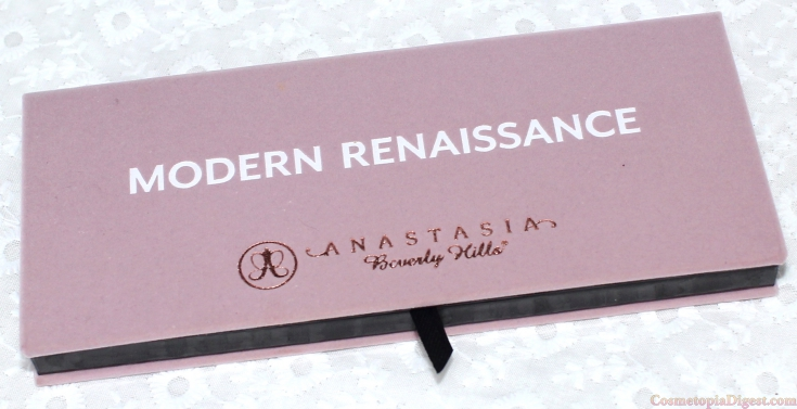 Review and swatches of the Anastasia Beverly Hills Modern Renaissance Palette.
