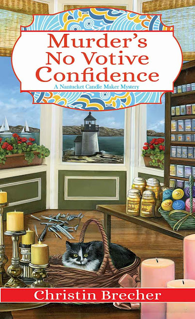 Murder's No Votive Confidence (Nantucket Candle Maker Mystery Book 1) by Christin Brecher