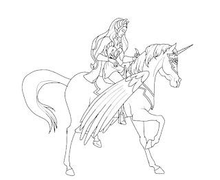 דפי צביעה שי-רה נסיכת הכוח