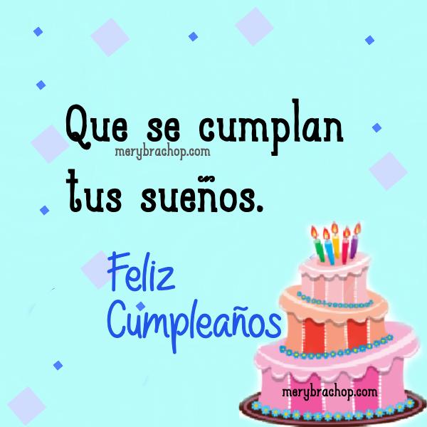 bonito deseo de cumpleaños, torta linda  feliz cumple por mery bracho