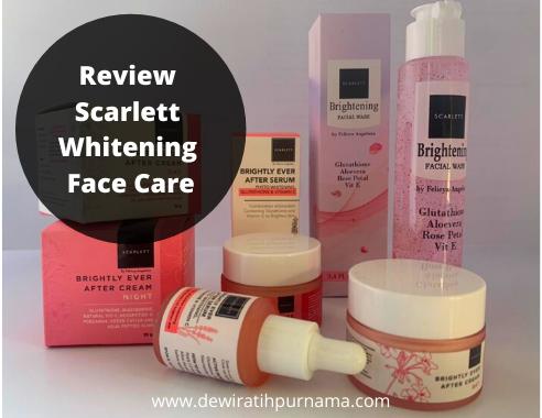 scarlett whitening skin care