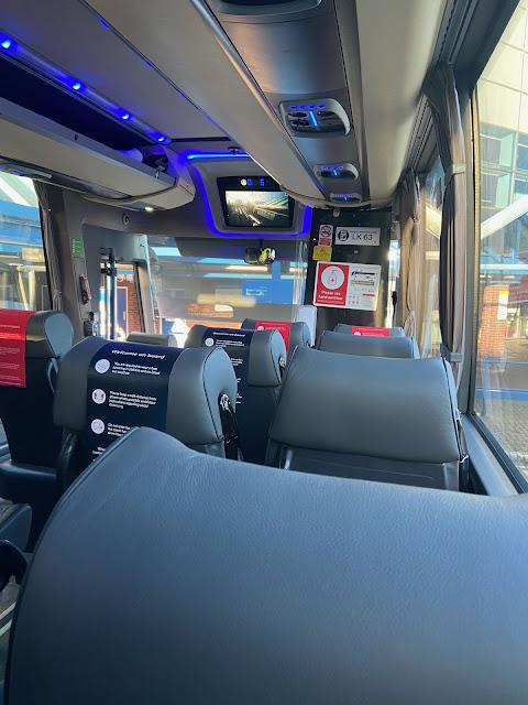 national express coach interior