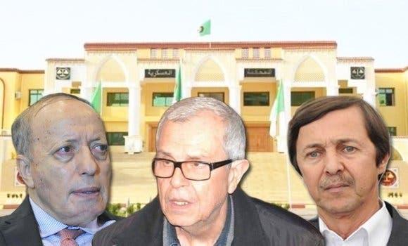القضاء يأمر بإعادة محاكمة سعيد بوتفليقة ومديرين سابقين للاستخبارات بالجزائر