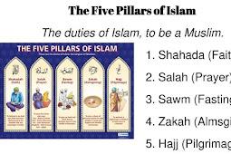 Five Pillars of Islam is Islamic Creed and principles of islam