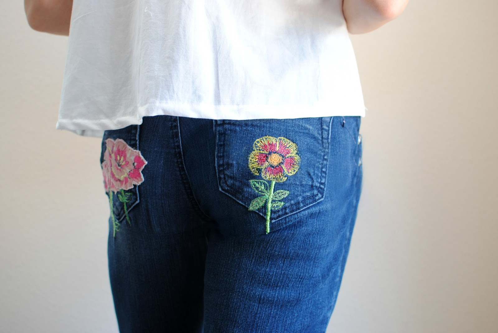 Trash to couture diy custom patches and embroidery with a basic the embroidery and patch trend is here to stay for now and its easier than ever to create your own with just some basic supplies and a sewing machine ccuart Gallery