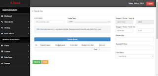 Download Aplikasi Hotel, Resto, Villa, Wisma atau Guest House Menggunakan PHP dan MySql