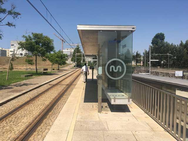 Verdes Station Porto Metro