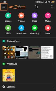 Tampilan Aplikasi File Manager Xiaomi Xiaomiintro