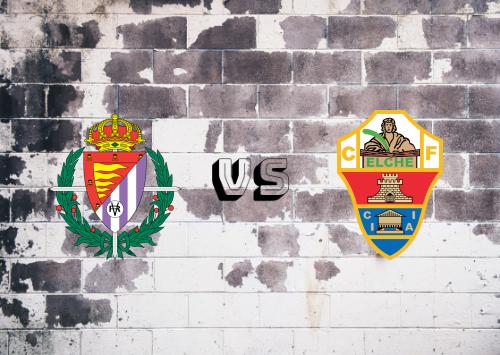 Real Valladolid vs Elche  Resumen