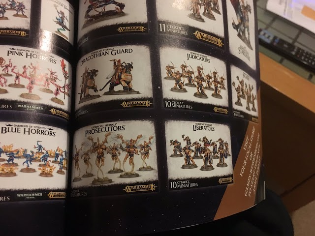Stormcast Eternals New Models and Battle Tome