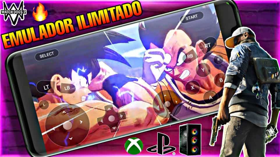 MÁXIMO EMULADOR  De PS4  Xbox One y Pc Para Android