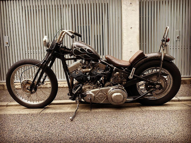 Harley Davidson Panhead By Spice Motorcycles Hell Kustom