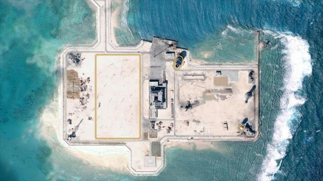 China construye en silencio instalaciones militares en mar del Sur
