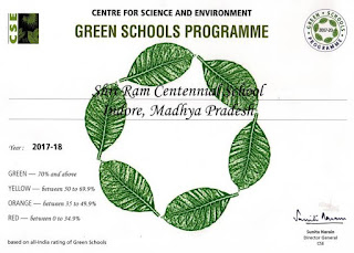 Register your school in Green schools programme for Green school Award
