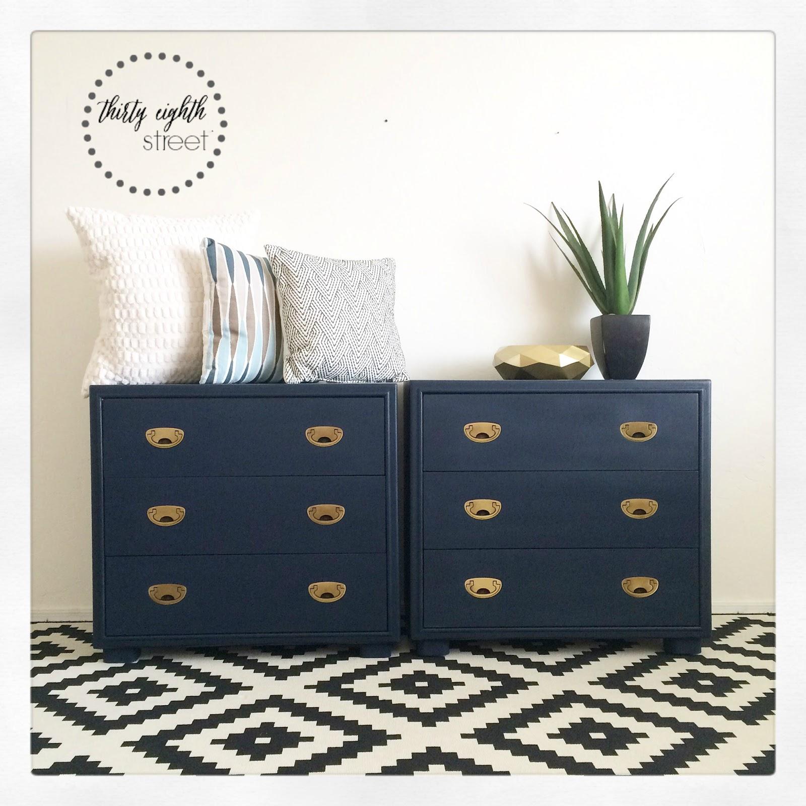 Navy Blue Dresser Bedroom Furniture 2016 Thirty Eighth Street