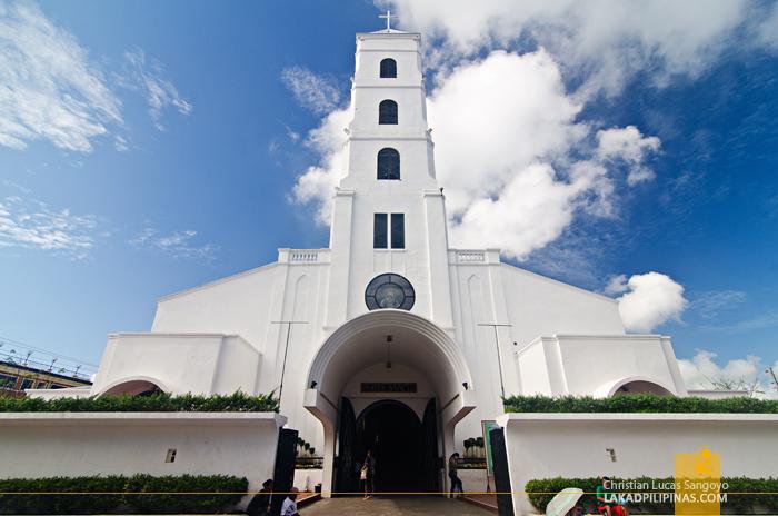 Sto. Niño Church Tacloban Facade