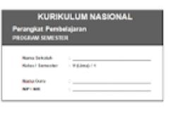 Download Prota Dan Promes Kurikulum Nasional Jenjang SD
