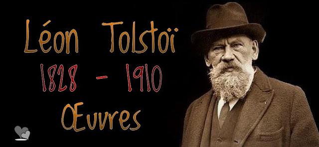 L'écrivain russe Lev Nikolaevich Tolstoy (Léon Tolstoï)
