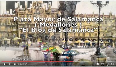 VIDEO MEDALLONES PLAZA MAYOR DE SALAMANCA