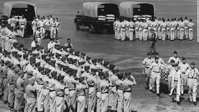 Επιστροφή των νεκρών στρατιωτών από τον πόλεμο του Βιετνάμ