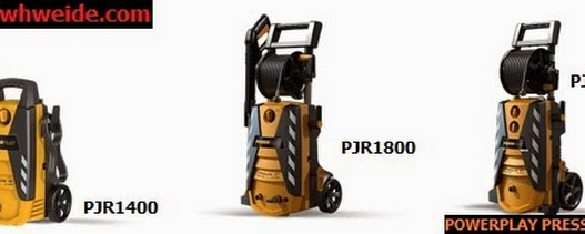 Comparing Powerplay 2000 PSI Electric Pressure Washer with Other Series and Brand Competitors