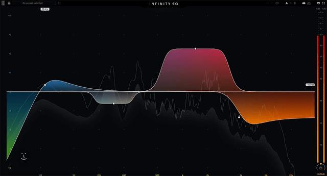 Interface do plugin Slate Digital - Infinity EQ 1.0.5.1