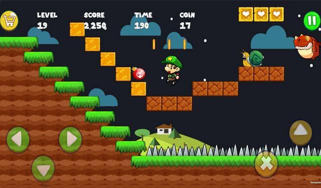 Bobs World Super Run Game Android Petualangan