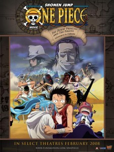 One Piece Movie 8 -The Desert Princess and the Pirates: Adventures in Arabasta ταινιες online seires xrysoi greek subs